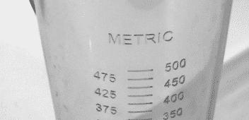 verre doseur test Bacques