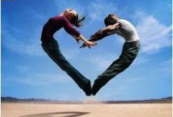 coeur fait par deux personnes