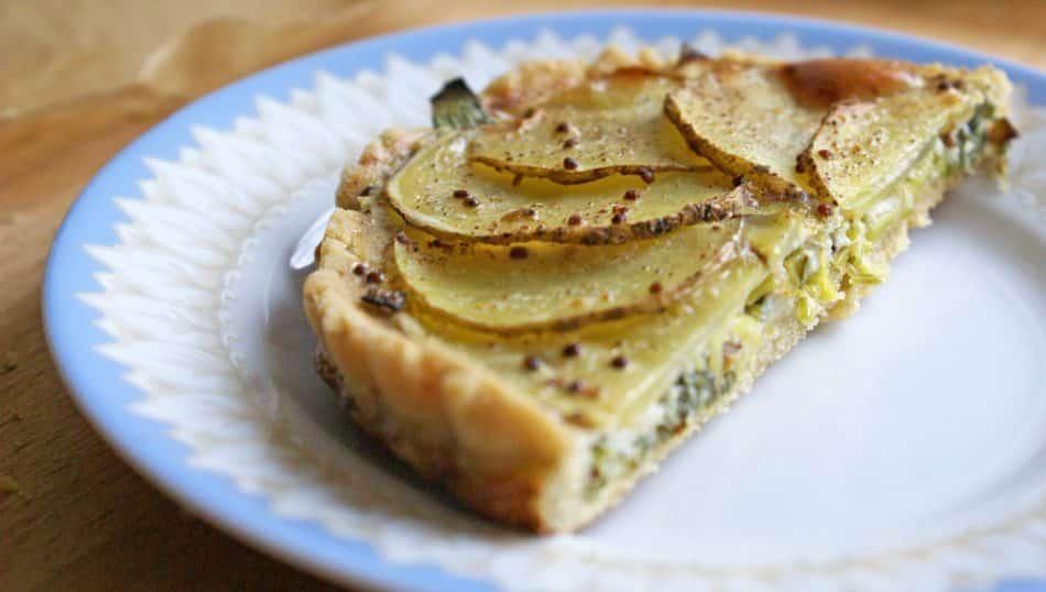 Tartelette salée sans gluten et sans lactose