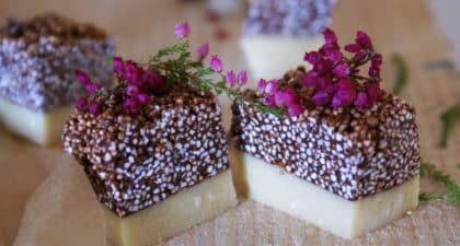 Barres chocolatées sans gluten et vegan