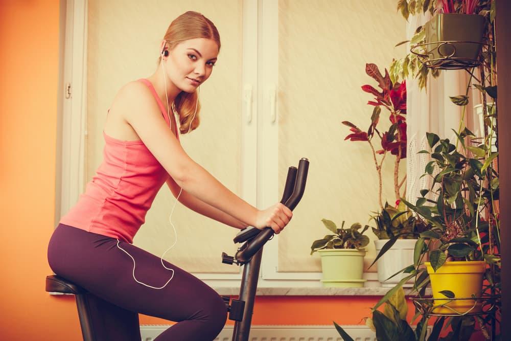 Pourquoi du vélo stationnaire plutôt que du « vrai » vélo ?